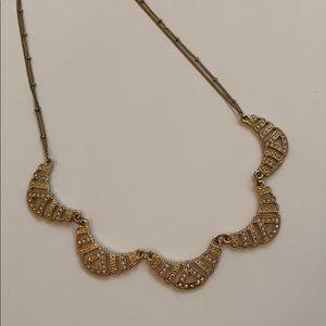 LC Lauren Conrad scalloped necklace